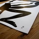 tegninger, illustrative, monokrome, pop, kroppe, humor, seksualitet, sorte, hvide, blæk, papir, abstrakte-former, sjove, sort-hvide, samtidskunst, dansk, dekorative, design, interiør, bolig-indretning, mænd, moderne, moderne-kunst, nordisk, plakater, skandinavisk, Køb original kunst og kunstplakater. Malerier, tegninger, limited edition kunsttryk & plakater af dygtige kunstnere.