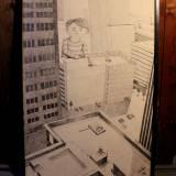 foto tegning af dreng i storby, huse, bygninger, skyskraber, kunst tegninger og illustrationer online, dygtige kunstnere, kunst på nettet