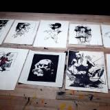 tegning af ansigt, kunst, online galleri, illustrationer af dygtige kunstnere på nettet