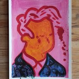 plakater-posters-kunsttryk, giclee-tryk, farverige, figurative, illustrative, pop, mennesker, blå, pink, gule, blæk, papir, samtidskunst, dansk, dekorative, design, ansigter, interiør, bolig-indretning, moderne, moderne-kunst, nordisk, plakater, tryk, skandinavisk, Køb original kunst og kunstplakater. Malerier, tegninger, limited edition kunsttryk & plakater af dygtige kunstnere.