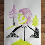 tegninger, gouache-malerier, akvarel-malerier, æstetiske, grafiske, minimalistiske, pop, dyreliv, botanik, natur, mennesker, sorte, grønne, violette, gouache, blæk, papir, smukke, dansk, dekorative, design, skov, interiør, bolig-indretning, moderne, moderne-kunst, bjerge, nordisk, plakater, flotte, tryk, skandinavisk, træer, Køb original kunst og kunstplakater. Malerier, tegninger, limited edition kunsttryk & plakater af dygtige kunstnere.