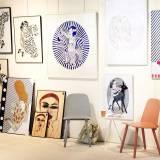 kunsttryk, gicleé, ekspressionistiske, figurative, illustrative, portræt, kroppe, mennesker, seksualitet, beige, brune, røde, blæk, samtidskunst, dekorative, design, ansigter, kvindelig, interiør, bolig-indretning, moderne, moderne-kunst, plakater, tryk, kvinder, Køb original kunst og kunstplakater. Malerier, tegninger, limited edition kunsttryk & plakater af dygtige kunstnere.
