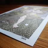 kunsttryk, gliceé, figurative, illustrative, protræt, surrealistiske, kroppe, tegneserier, religion, grønne, grå, gule, blæk, papir,  print, comics, mænd, skitser, Køb original kunst af den højeste kvalitet. Malerier, tegninger, limited edition kunsttryk & plakater af dygtige kunstnere.
