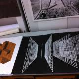 BLACK PERSPECTIVE linocut_printing process