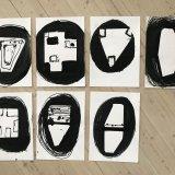 tegninger, abstrakte, ekspressionistiske, grafiske, minimalistiske, kroppe, mønstre, mennesker, sorte, akryl, kridt, abstrakte-former, samtidskunst, københavn, dekorative, design, interiør, bolig-indretning, moderne, moderne-kunst, nordisk, skandinavisk, Køb original kunst og kunstplakater. Malerier, tegninger, limited edition kunsttryk & plakater af dygtige kunstnere.
