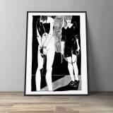 kunsttryk, gliceé, grafiske, illustrative, monokrome, portræt, kroppe, tegneserier, seksualitet, sorte, hvide, blæk, papir, sort-hvide, samtidskunst, dansk, dekorative, design, erotiske, interiør, bolig-indretning, moderne, moderne-kunst, nordisk, skandinavisk, seksuel, skitse, Køb original kunst og kunstplakater. Malerier, tegninger, limited edition kunsttryk & plakater af dygtige kunstnere.