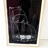 tegninger, børnevenlige, monokrome, pop, stemninger, bevægelse, transportmidler, sorte, hvide, papir, andre-medier, sort-hvide, biler, naive, street-art, køretøjer, Køb original kunst af den højeste kvalitet. Malerier, tegninger, limited edition kunsttryk & plakater af dygtige kunstnere.