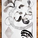 tegninger, akvareller, abstrakte, illustrative, minimalistiske, monokrome, botanik, mønstre, sorte, grå, hvide, artliner, akvarel, abstrakte-former, dekorative, blomster, skov, interiør, bolig-indretning, planter, træer, Køb original kunst og kunstplakater. Malerier, tegninger, limited edition kunsttryk & plakater af dygtige kunstnere.