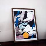 kunsttryk, gliceé, figurative, grafiske, illustrative, portræt, kroppe, tegneserier, mennesker, sorte, blå, hvide, gule, papir, tusch, akvarel, samtidskunst, dansk, dekorative, design, ekspressionisme, interiør, bolig-indretning, moderne, moderne-kunst, nordisk, skandinavisk, levende, Køb original kunst og kunstplakater. Malerier, tegninger, limited edition kunsttryk & plakater af dygtige kunstnere.