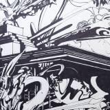 tegninger, abstrakte, ekspressionistiske, geometriske, grafiske, illustrative, monokrome, pop, arkitektur, bevægelse, mønstre, sorte, hvide, artliner, blæk, papir, tusch, abstrakte-former, arkitektoniske, bygninger, samtidskunst, dansk, dekorative, design, interiør, bolig-indretning, moderne, moderne-kunst, nordisk, skandinavisk, street-art, Køb original kunst og kunstplakater. Malerier, tegninger, limited edition kunsttryk & plakater af dygtige kunstnere.