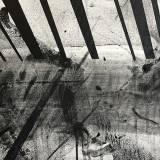 Sort hvide malerier danske gallerier stærk god kunst minimalistisk tunnel, bedste danske kunstnere