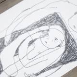 tegninger, ekspressionistiske, grafiske, illustrative, minimalistiske, kroppe, hverdagsliv, stemninger, sorte, hvide, papir, blyant, abstrakte-former, samtidskunst, dekorative, interiør, bolig-indretning, kærlighed, moderne, moderne-kunst, romantiske, street-art, Køb original kunst og kunstplakater. Malerier, tegninger, limited edition kunsttryk & plakater af dygtige kunstnere.
