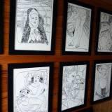 tegninger, æstetiske, figurative, illustrative, portræt, kroppe, tegneserier, mennesker, seksualitet, sorte, hvide, papir, tusch, nøgen, skitse, Køb original kunst og kunstplakater. Malerier, tegninger, limited edition kunsttryk & plakater af dygtige kunstnere.