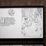 tegninger, grafiske, illustrative, monokrome, portræt, kroppe, tegneserier, hverdagsliv, seksualitet, sorte, hvide, artliner, papir, tusch, erotiske, nøgen, skitse, Køb original kunst og kunstplakater. Malerier, tegninger, limited edition kunsttryk & plakater af dygtige kunstnere.