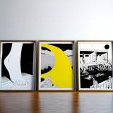 plakater-posters-kunsttryk, giclee-tryk, abstrakte, grafiske, illustrative, landskab, tegneserier, bevægelse, natur, sorte, grå, gule, papir, abstrakte-former, samtidskunst, dansk, dekorative, design, interiør, bolig-indretning, moderne, moderne-kunst, nordisk, plakater, tryk, skandinavisk, sceneri, Køb original kunst og kunstplakater. Malerier, tegninger, limited edition kunsttryk & plakater af dygtige kunstnere.