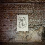 FIGURATIONS IX linocut_artistic photography