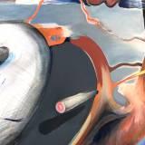 malerier, abstrakte, dyr, landskab, surrealistiske, bevægelse, natur, himmel, blå, grå, orange, pink, olie, abstrakte-former, atmosfære, samtidskunst, dekorative, design, interiør, bolig-indretning, moderne, moderne-kunst, nordisk, skandinavisk, sceneri, former, Køb original kunst og kunstplakater. Malerier, tegninger, limited edition kunsttryk & plakater af dygtige kunstnere.