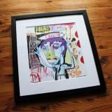 tegninger, farverige, illustrative, pop, tegneserier, typografi, sorte, lillae, røde, papir, tusch, blyant, sjove, lyse, samtidskunst, dansk, design, interiør, bolig-indretning, kærlighed, mænd, moderne, moderne-kunst, nordisk, pop-art, skandinavisk, skitse, firkantet, street-art, levende, ord, Køb original kunst og kunstplakater. Malerier, tegninger, limited edition kunsttryk & plakater af dygtige kunstnere.