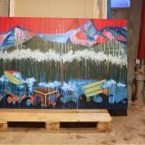 malerier, farverige, ekspressionistiske, landskab, stemninger, natur, havet, årstider, blå, grønne, røde, akryl,  bomuldslærred, samtidskunst, dansk, dekorative, design, ekspressionisme, interiør, bolig-indretning, moderne, moderne-kunst, bjerge, naive, nordisk, skandinavisk, sceneri, levende, Køb original kunst og kunstplakater. Malerier, tegninger, limited edition kunsttryk & plakater af dygtige kunstnere.