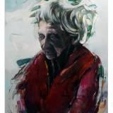 malerier, ekspressionistiske, figurative, portræt, surrealistiske, kroppe, hverdagsliv, stemninger, mennesker, beige, turkise, hvide, akryl, kul,  bomuldslærred, olie, smukke, lyse, samtidskunst, københavn, dansk, ekspressionisme, øjne, ansigter, kærlighed, moderne, moderne-kunst, nordisk, skandinavisk, symbolsk, rolige, kvinder, Køb original kunst og kunstplakater. Malerier, tegninger, limited edition kunsttryk & plakater af dygtige kunstnere.