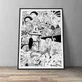 kunsttryk, gliceé, dyr, grafiske, illustrative, monokrome, portræt, surrealistiske, kroppe, tegneserier, humor, bevægelse, vilde-dyr, sorte, hvide, blæk, papir, abstrakte-former, sjove, atmosfære, sort-hvide, samtidskunst, dansk, interiør, bolig-indretning, moderne, moderne-kunst, nordisk, plakater, tryk, Køb original kunst og kunstplakater. Malerier, tegninger, limited edition kunsttryk & plakater af dygtige kunstnere.