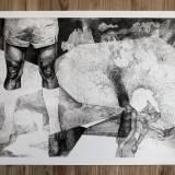 kunsttryk, gliceé, æstetiske, figurative, illustrative, monokrome, kroppe, hverdagsliv, natur, sorte, grå, hvide, blæk, papir, abstrakte-former, sort-hvide, samtidskunst, dansk, dekorative, design, moderne, moderne-kunst, nordisk, plakater, tryk, skandinavisk, sceneri, Køb original kunst og kunstplakater. Malerier, tegninger, limited edition kunsttryk & plakater af dygtige kunstnere.