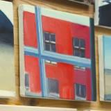 malerier, farverige, figurative, geometriske, arkitektur, blå, brune, røde, turkise,  bomuldslærred, olie, arkitektoniske, bygninger, samtidskunst, dekorative, design, interiør, moderne, moderne-kunst, realisme, levende, Køb original kunst og kunstplakater. Malerier, tegninger, limited edition kunsttryk & plakater af dygtige kunstnere.