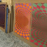 TOROIDAL SPACE linocut_printing process
