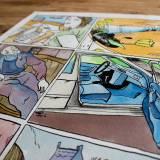 tegninger, dyr, farverige, illustrative, portræt, tegneserier, hverdagsliv, kæledyr, blå, brune, grønne, gule, blæk, papir, akvarel, hunde, ansigter, blomster, mænd, skitse, Køb original kunst og kunstplakater. Malerier, tegninger, limited edition kunsttryk & plakater af dygtige kunstnere.