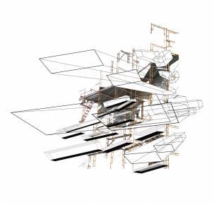 digital print, Indrammet digital collage Indreammet fotografi, kunstfoto, kunstfotografi, fragmentering, dynamik, strukturer og historie. facebook, google, pinterest