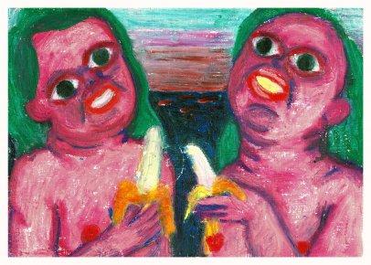 plakater-posters-kunsttryk, giclee-tryk, farverige, figurative, illustrative, pop, kroppe, mennesker, seksualitet, grønne, pink, røde, blæk, papir, sjove, samtidskunst, dekorative, design, kvindelig, feminist, interiør, bolig-indretning, kærlighed, moderne, moderne-kunst, kvinder, Køb original kunst og kunstplakater. Malerier, tegninger, limited edition kunsttryk & plakater af dygtige kunstnere.