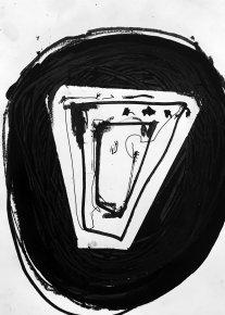 tegninger, abstrakte, grafiske, minimalistiske, monokrome, mennesker, sorte, akryl, kridt, abstrakte-former, Køb original kunst og kunstplakater. Malerier, tegninger, limited edition kunsttryk & plakater af dygtige kunstnere.