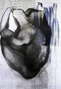 tegninger, abstrakte, æstetiske, figurative, portræt, kroppe, seksualitet, sorte, blå, hvide, akryl, kul, papir, abstrakte-former, smukke, dekorative, interiør, bolig-indretning, nøgen, flotte, Køb original kunst og kunstplakater. Malerier, tegninger, limited edition kunsttryk & plakater af dygtige kunstnere.