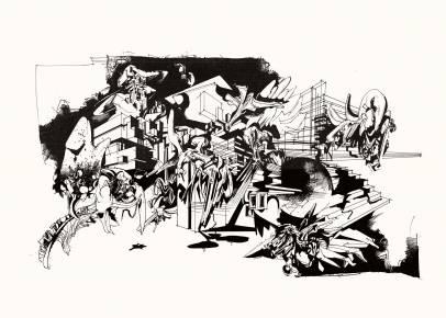 kunsttryk, gliceé, æstetiske, grafiske, monokrome, pop, arkitektur, botanik, mønstre, sorte, hvide, blæk, papir, abstrakte-former, arkitektoniske, sort-hvide, bygninger, design, interiør, bolig-indretning, Køb original kunst og kunstplakater. Malerier, tegninger, limited edition kunsttryk & plakater af dygtige kunstnere.