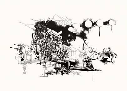 kunsttryk, gliceé, æstetiske, geometriske, grafiske, monokrome, arkitektur, botanik, natur, mønstre, sorte, hvide, blæk, papir, abstrakte-former, arkitektoniske, sort-hvide, bygninger, dekorative, design, interiør, bolig-indretning, planter, sceneri, Køb original kunst og kunstplakater. Malerier, tegninger, limited edition kunsttryk & plakater af dygtige kunstnere.