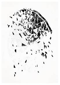 kunsttryk, fotografier, new-media, abstrakte, geometriske, arkitektur, mønstre, sorte, blæk, papir, abstrakte-former, arkitektoniske, smukke, bygninger, dekorative, design, interiør, bolig-indretning, Køb original kunst og kunstplakater. Malerier, tegninger, limited edition kunsttryk & plakater af dygtige kunstnere.