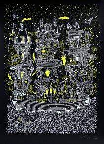 plakater-posters-kunsttryk, silketryk, æstetiske, børnevenlige, figurative, grafiske, landskab, arkitektur, tegneserier, stemninger, natur, havet, sejlads, transportmidler, sorte, hvide, gule, akryl, papir, smukke, både, bygninger, samtidskunst, dansk, dekorative, design, moderne, moderne-kunst, nordisk, fest, plakater, flotte, tryk, skandinavisk, hav, Køb original kunst og kunstplakater. Malerier, tegninger, limited edition kunsttryk & plakater af dygtige kunstnere.