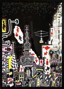 kunsttryk, gliceé, dyr, farverige, geometriske, pop, arkitektur, mønstre, kæledyr, himmel, sorte, røde, hvide, gule, papir, arkitektoniske, atmosfære, bygninger, street-art, levende, Køb original kunst af den højeste kvalitet. Malerier, tegninger, limited edition kunsttryk & plakater af dygtige kunstnere.
