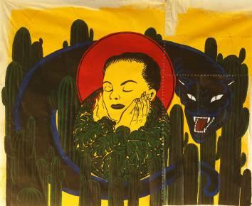malerier, æstetiske, dyr, figurative, landskab, portræt, botanik, stemninger, mennesker, dyreliv, sorte, røde, gule, akryl,  bomuldslærred, ansigter, blomster, planter, vilde-dyr, Køb original kunst af den højeste kvalitet. Malerier, tegninger, limited edition kunsttryk & plakater af dygtige kunstnere.