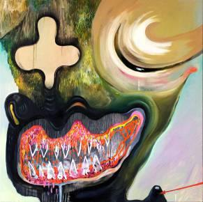 malerier, farverige, ekspressionistiske, pop, surrealistiske, stemninger, mennesker, beige, grønne, røde,  bomuldslærred, olie, abstrakte-former, ansigter, levende, Køb original kunst af den højeste kvalitet. Malerier, tegninger, limited edition kunsttryk & plakater af dygtige kunstnere.