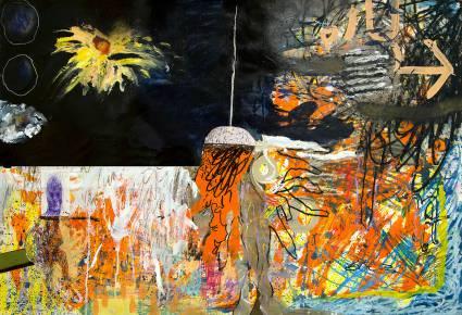 malerier, ekspressionistiske, illustrative, hverdagsliv, stemninger, bevægelse, sorte, orange, hvide, papir, tusch, olie, blyant, abstrakte-former, samtidskunst, københavn, dansk, ekspressionisme, interiør, bolig-indretning, moderne, moderne-kunst, nordisk, skandinavisk, Køb original kunst og kunstplakater. Malerier, tegninger, limited edition kunsttryk & plakater af dygtige kunstnere.