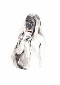 kunsttryk, gliceé, æstetiske, figurative, portræt, kroppe, stemninger, mennesker, sorte, grå, hvide, blæk, papir, smukke, lyse, dekorative, ansigter, kvindelig, piger, flotte, skitse, lodret, kvinder, Køb original kunst af den højeste kvalitet. Malerier, tegninger, limited edition kunsttryk & plakater af dygtige kunstnere.