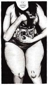tegninger, figurative, monokrome, portræt, kroppe, mønstre, sorte, hvide, artliner, papir, sort-hvide, Køb original kunst af den højeste kvalitet. Malerier, tegninger, limited edition kunsttryk & plakater af dygtige kunstnere.