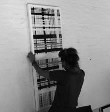 æstestiske minimalistiske malerier, dekorative, grafisk maleri, abstrakte malerier