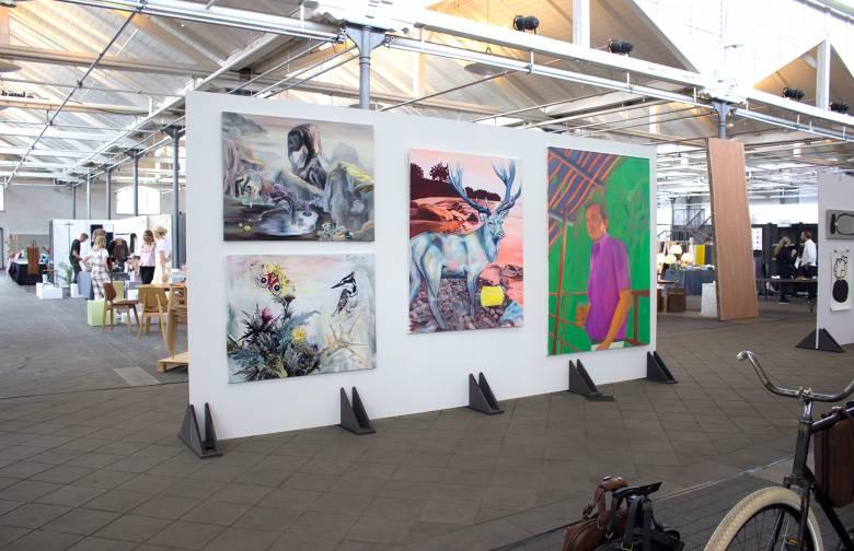kunstmesse art fair design danish nordic scandinavian copenhagen paintings malerier københavn limited edition kunst-plakater kunsttryk art posters